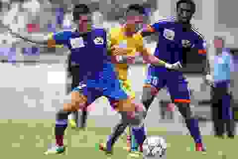 Than Quảng Ninh thắng đậm ĐT Long An trên sân nhà