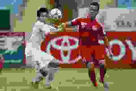 Văn Quyết tỏa sáng giúp Hà Nội T&T lên vị trí thứ 2