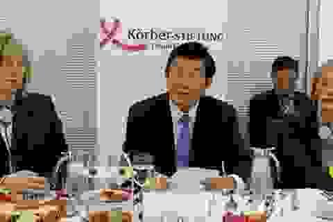 Chủ tịch nước Trương Tấn Sang phát biểu tại Viện Koerber
