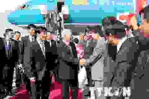 Tổng Bí thư tiếp lãnh đạo một số tập đoàn kinh tế hàng đầu Nhật Bản