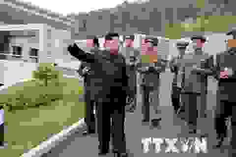 Nhà lãnh đạo Triều Tiên thị sát một nhà máy ở khu vực biên giới