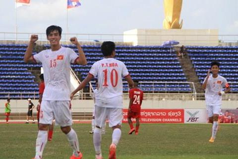 U19 Việt Nam đánh bại U19 Singapore với tỷ số tennis