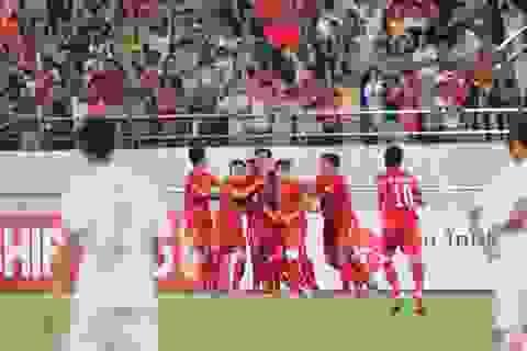 U19 Việt Nam 4-0 U19 Lào (Kết thúc)