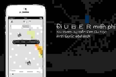 Đi Uber miễn phí khi tham dự Triển lãm Du học Anh Quốc eduFairUK