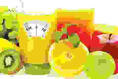 Phương pháp giảm cân detox: Nhiều nguy hiểm!