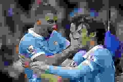 Vượt ải Everton, Man City độc chiếm ngôi đầu bảng