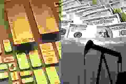 Tỷ giá USD/VND diễn biến trái chiều, vàng giảm