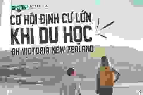 Cơ hội định cư lớn khi du học ĐH Victoria, New Zealand