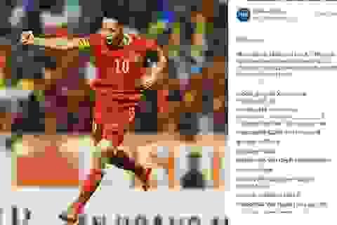 Chọc thủng lưới Man City, Văn Quyết xuất hiện trên báo…cùng Ronaldo