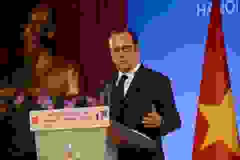 Tổng thống Pháp Hollande: Chuyến thăm kết nối quá khứ và tương lai
