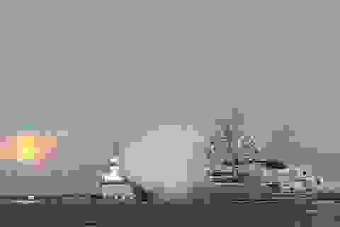 Lần đầu tiên Hải quân Nga tấn công khủng bố ở Syria từ Địa Trung Hải