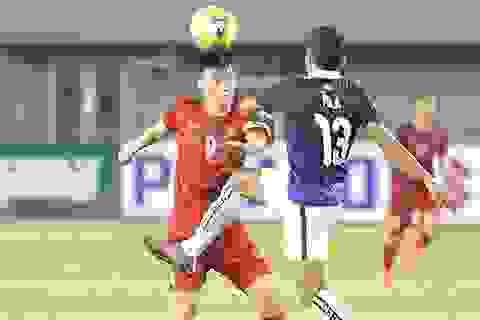 Đánh bại Campuchia, đội tuyển Việt Nam giành ngôi đầu bảng