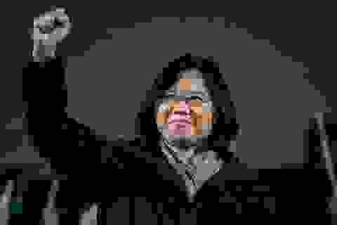 Bà Thái Anh Văn trở thành nữ lãnh đạo Đài Loan đầu tiên