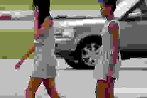 """Cư dân mạng phát """"sốt"""" vì tài khoản Twitter của tiểu thư nhà Obama"""