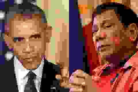 """Tổng thống Philippines có thể """"ngáng đường"""" chính sách xoay trục của Obama"""