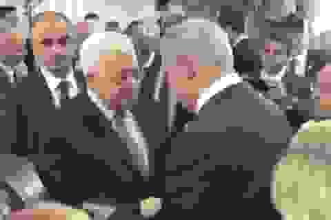 Lãnh đạo Israel, Palestine lần đầu gặp mặt trực tiếp