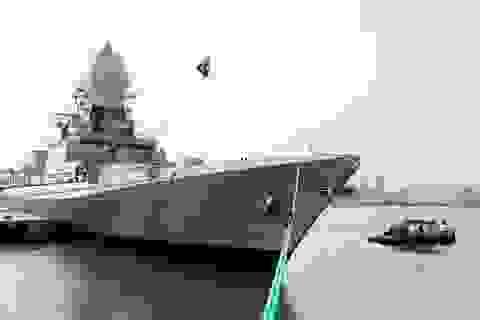 Ấn Độ hạ thuỷ tàu khu trục tự đóng lớn nhất