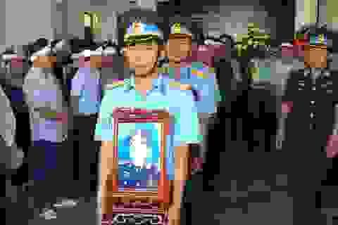 Công nhận 10 liệt sĩ hy sinh trong 2 vụ máy bay rơi