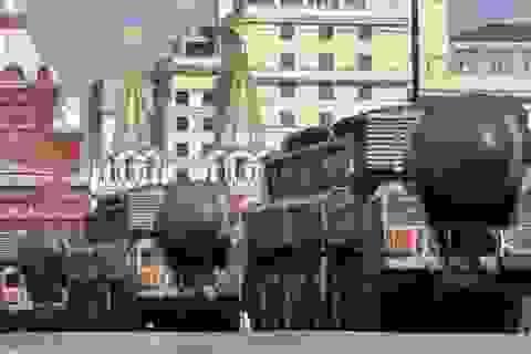 Nga khoe sức mạnh tên lửa chưa từng tham chiến