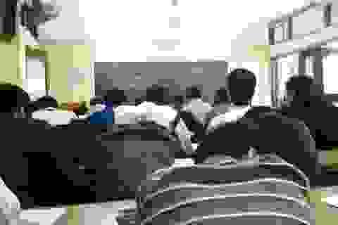 Buồn thay ý thức của sinh viên bây giờ