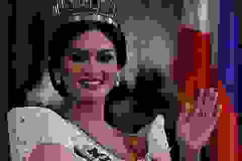 Đương kim Hoa hậu Hoàn vũ diện kiến tổng thống Philippines