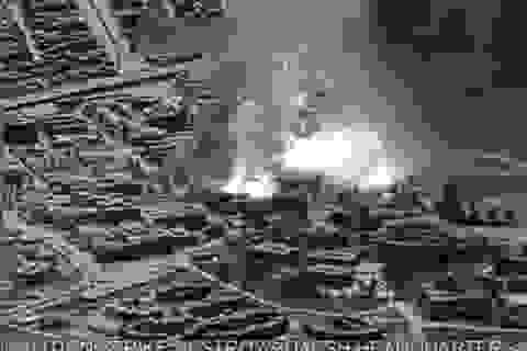 Mỹ không kích dữ dội trung tâm nghiên cứu bom và vũ khí hóa học của IS