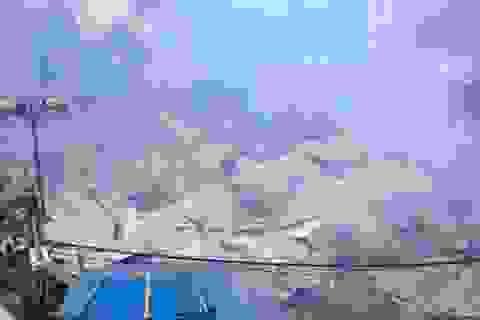 Hà Nội: Cháy lớn tại khu lán trọ, công nhân hoảng loạn bỏ chạy