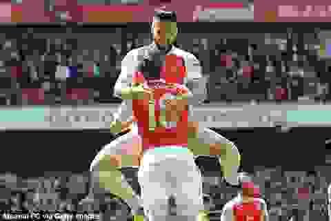 Arsenal, Tottenham, Man City giành các vị trí nhì, ba, tư
