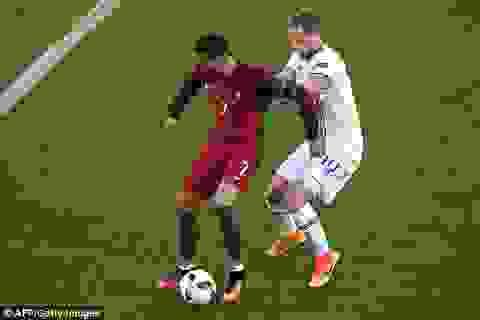 Bồ Đào Nha 1-1 Iceland: C.Ronaldo gây thất vọng