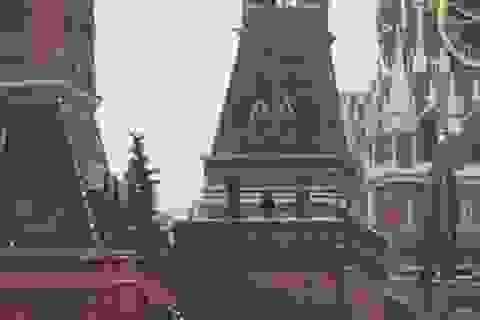 Hé lộ bí mật ẩn giấu trong bức tường điện Kremlin nhiều thế kỷ