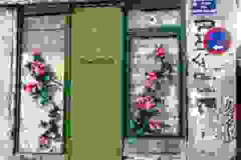 """Lạ kỳ những bức tường """"đan len"""" ở Tây Ban Nha"""