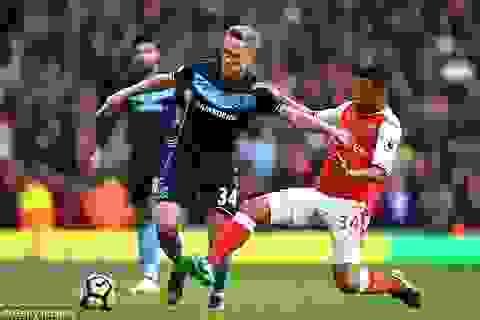 Arsenal 0-0 Middlesbrough: Sinh nhật buồn của Wenger