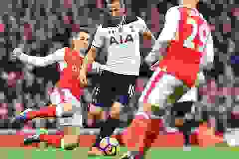 Arsenal 1-1 Tottenham: Chia điểm, ghìm chân nhau
