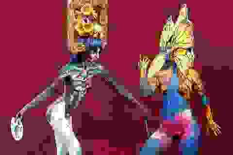 Lễ hội vẽ tranh trên cơ thể người lớn nhất thế giới