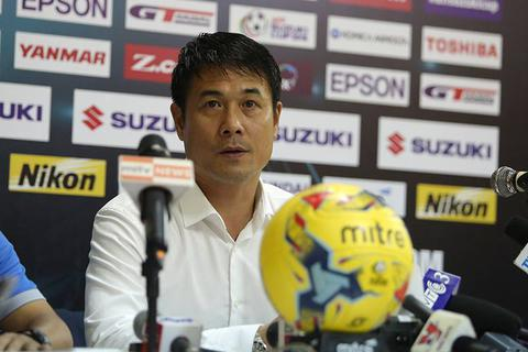 """HLV Hữu Thắng: """"Tôi hài lòng về tinh thần thi đấu của các cầu thủ"""""""