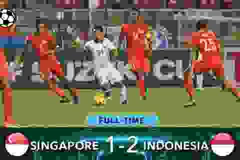 Ngược dòng hạ Singapore, Indonesia giành vé vào bán kết