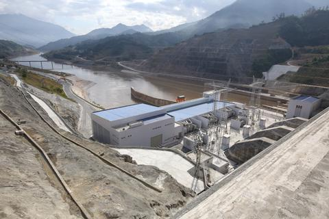 Nhà máy Thủy điện Lai Châu trước ngày khánh thành