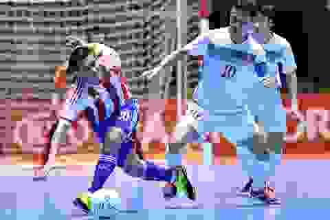 Việt Nam 1-7 Paraguay: Chênh lệch đẳng cấp