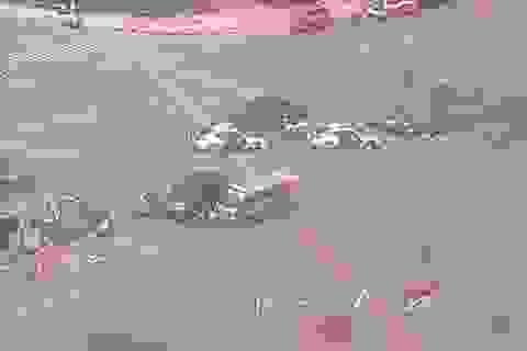 Hiện trường các vụ tấn công kinh hoàng ở Jakarta