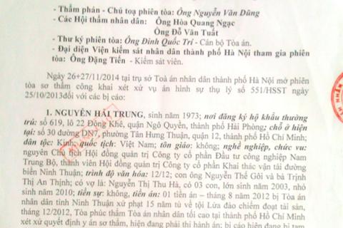 Hà Nội: Hai cấp Toà tuyên, bản án vẫn không được thực thi