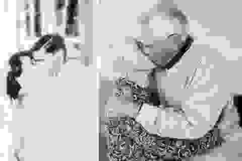 """Bộ ảnh về """"Tình yêu vĩnh cửu"""" gây xúc động"""