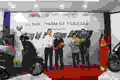 VTVcab tặng 2 xe máy cho khách hàng tại TP HCM