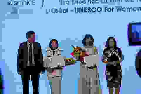 Tôn vinh và trao giải thưởng 5 nhà khoa học nữ xuất sắc Việt Nam 2016