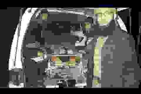 Hình ảnh đầu tiên phe nổi dậy rút khỏi Aleppo