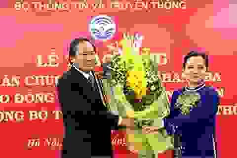 Bộ trưởng Trương Minh Tuấn nhận Huân chương Lao động hạng Ba