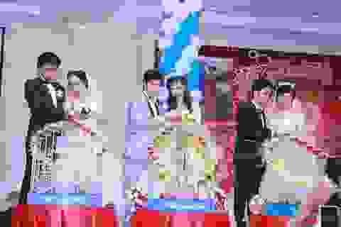 """Đám cưới chung """"độc nhất vô nhị"""" của ba chị em ruột ở Vũng Tàu"""