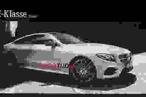 Thêm hình ảnh và thông tin về E-Class Coupe mới