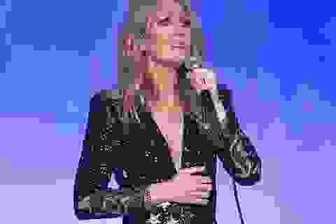 Nghẹn ngào xem Celine Dion nức nở hát tặng người chồng quá cố
