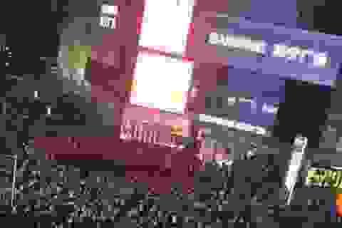 Dân Trung Quốc xuống đường biểu tình phản đối dự án hạt nhân
