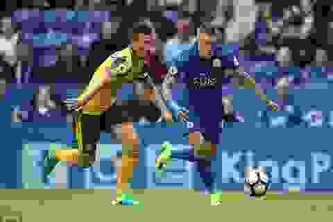 Leicester City 0-0 Arsenal: Chia điểm nhạt nhòa